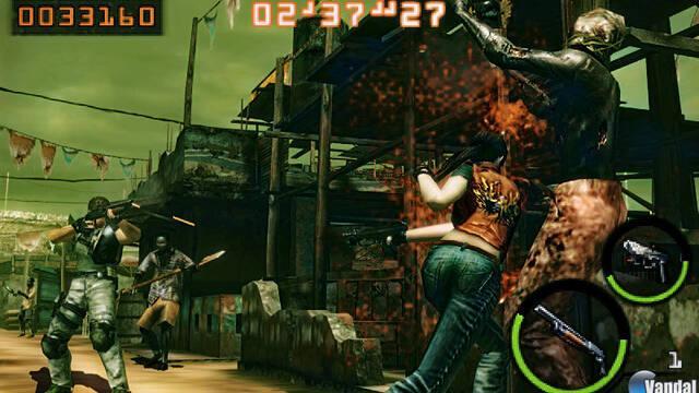 Nuevas imágenes y tráiler de Resident Evil The Mercenaries 3D