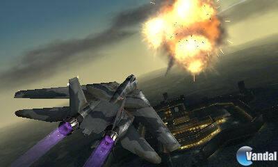 Primeras imágenes de Ace Combat 3D