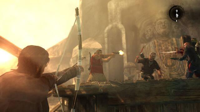Nuevas imágenes de multijugador de Tomb Raider