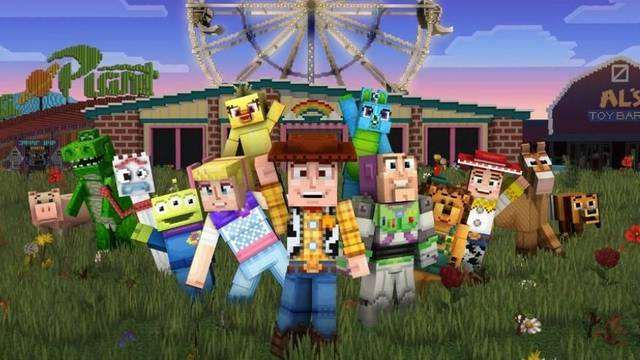 Minecraft recibe a los personajes de Toy Story en PC y Xbox One
