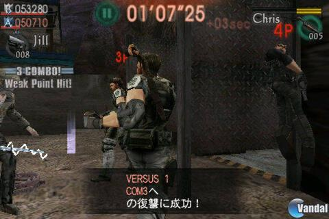 Resident Evil: The Mercenaries ya está en iPhone
