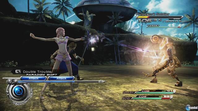 Ya está disponible el nuevo contenido descargable de Final Fantasy XIII-2 en Xbox Live