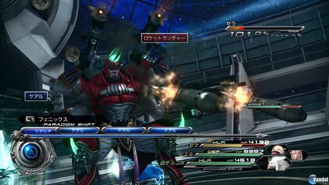 Nuevas imágenes de Final Fantasy XIII-2