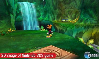 Ubisoft distribuye nuevas imágenes de Rayman 3D