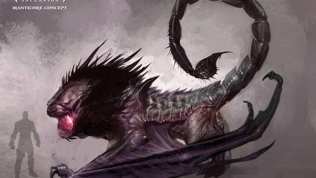 La mantícora de God of War: Ascension se muestra en vídeo