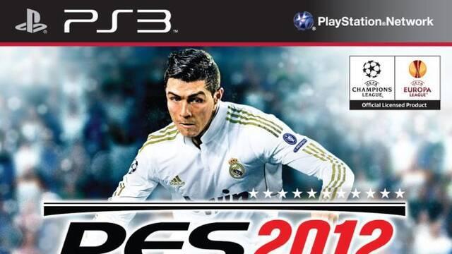 Se muestra la portada de Pro Evolution Soccer 2012