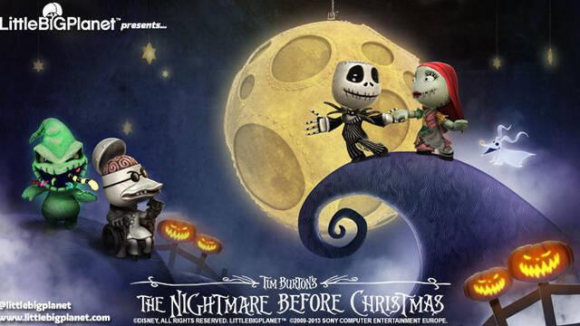 Pesadilla antes de Navidad llega a LittleBigPlanet
