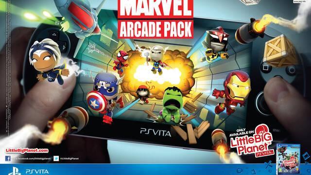 Anunciados los niveles de Marvel para LittleBigPlanet Vita