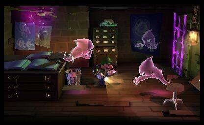 Nuevas imágenes de Luigi's Mansion: Dark Moon
