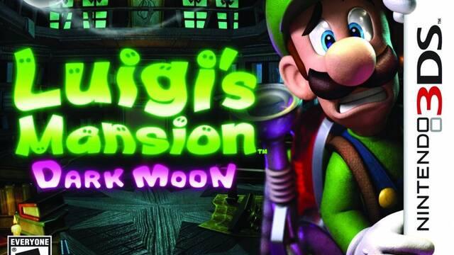 Luigi's Mansion: Dark Moon nos muestra su portada