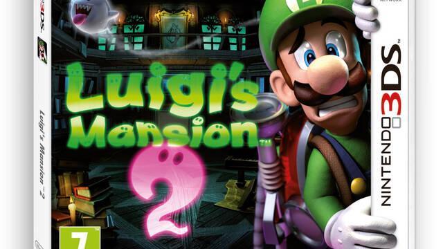 Mostrada la carátula europea de Luigi's Mansion 2