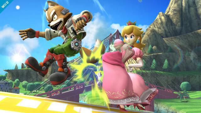 Peach se presenta en Super Smash Bros.