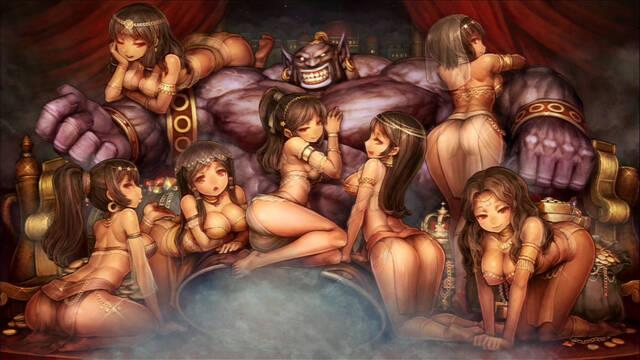 50 ilustraciones de Dragon's Crown
