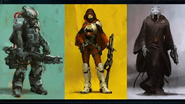 Bungie muestra la creación de personajes de Destiny