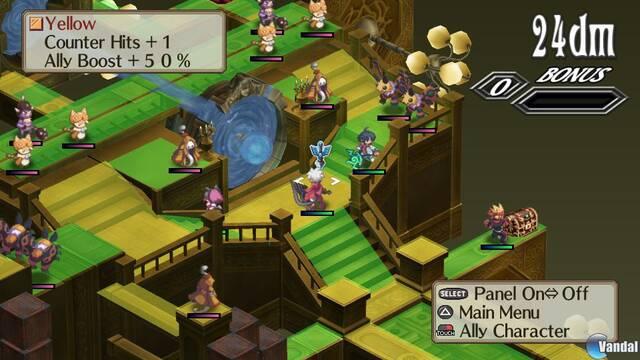 Nuevas imágenes de Disgaea 3 para PS Vita