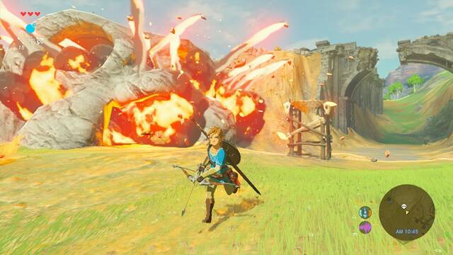 Así se juega con The Legend of Zelda: Breath of the Wild