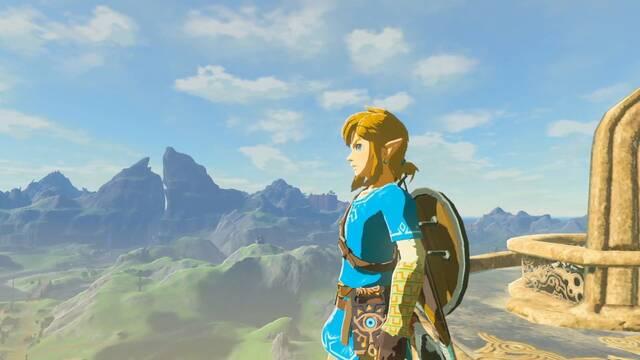 Un jugador termina The Legend of Zelda: Breath of the Wild utilizando únicamente el escudo