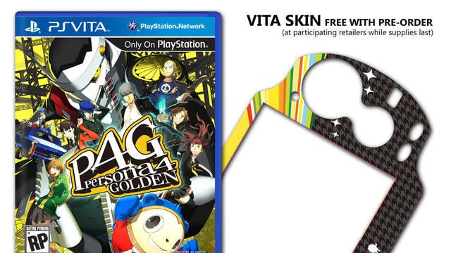 Revelado los vinilos para PSVita de Persona 4 The Golden