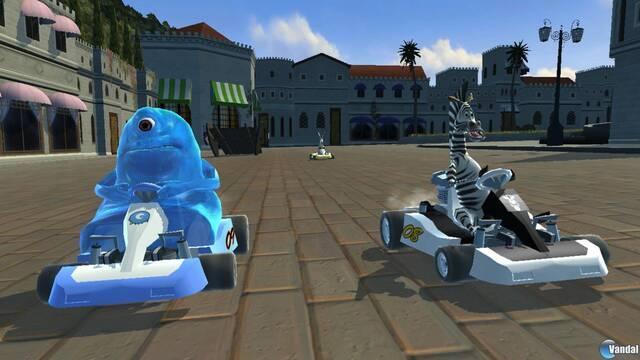 Nuevas imágenes de DreamWorks Super Star Kartz