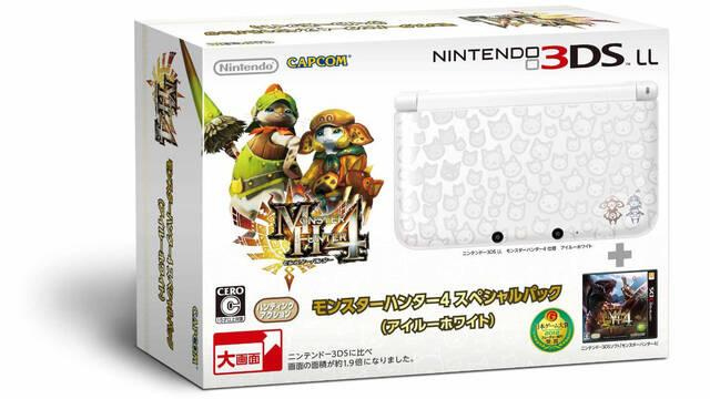 Mostradas las 3DS especiales de Monster Hunter 4
