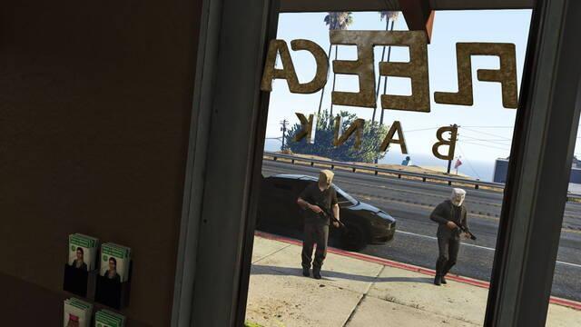Los atracos llegarán a GTA Online a principios del 2015