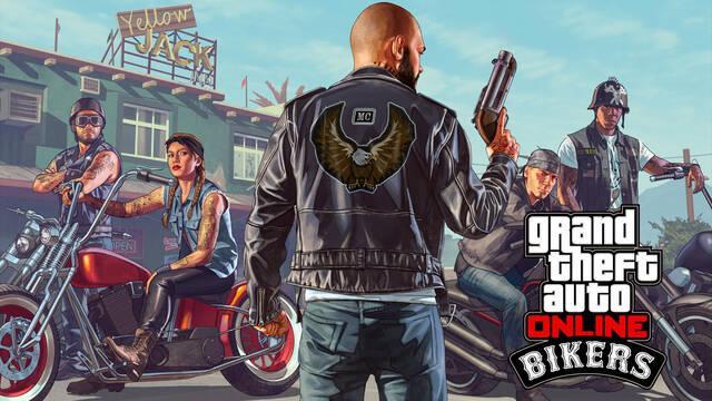 Ya está disponible GTA Online: Moteros