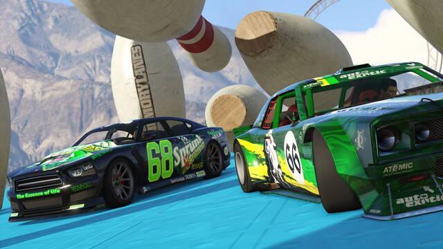 GTA Online se actualiza para recibir su nuevo editor de pistas acrobáticas