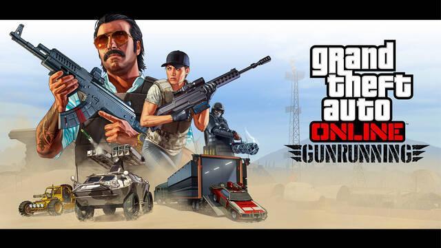 Así es el tráiler del contenido 'Tráfico de armas' para GTA Online