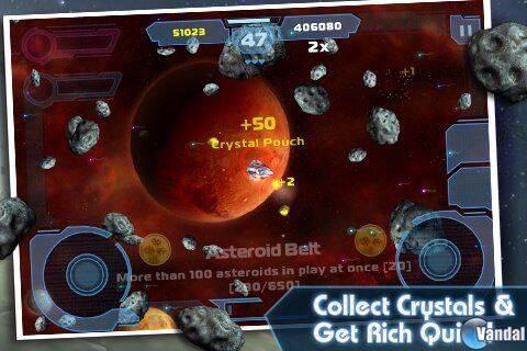 Nuevas imágenes de Asteroids: Gunner para iOS