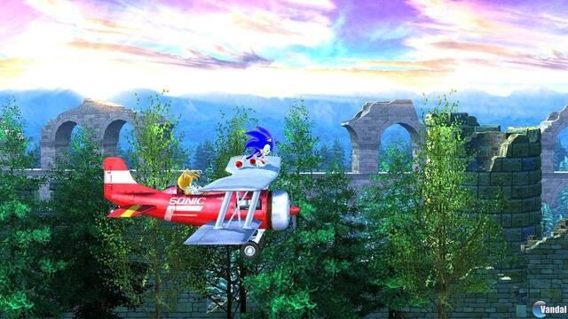 Sylvania Castle se muestra en nuevas imágenes de Sonic the Hedgehog 4: Episode II