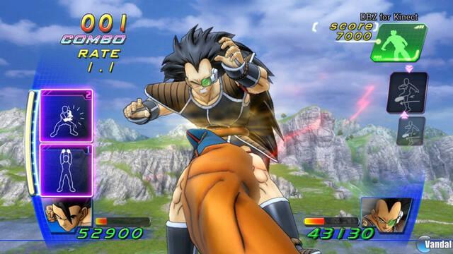 Primeras imágenes de Dragon Ball Z Kinect