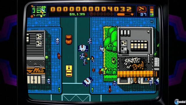Retro City Rampage DX llega el 3 de agosto a Nintendo Switch