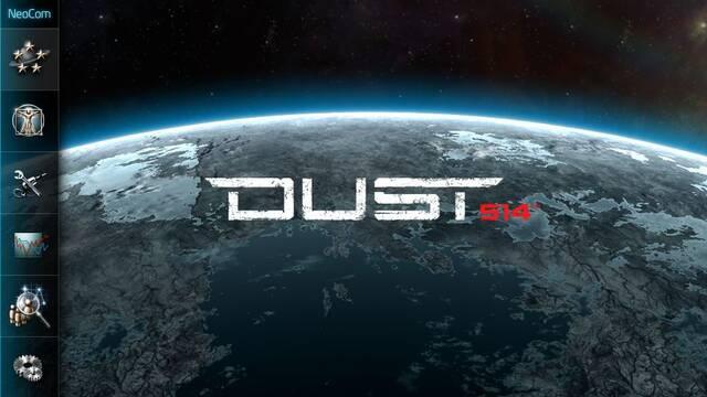 Se muestra la aplicación de Dust 514 para PS Vita