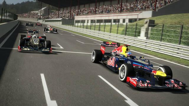 F1 2012 se deja ver en nuevas imágenes