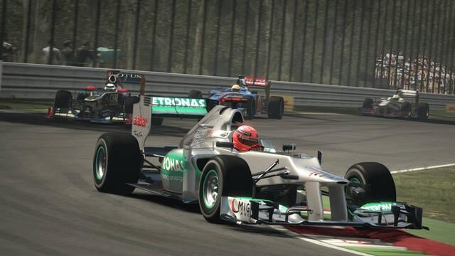 Nuevas imágenes de F1 2012