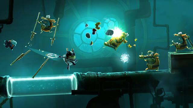 20.000 Lums de viaje submarino es el nuevo mundo de Rayman Legends