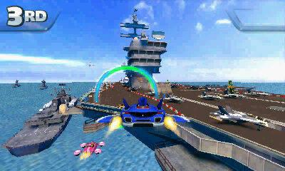 Sonic & All-Stars Racing Transformed llegará a Nintendo 3DS este viernes