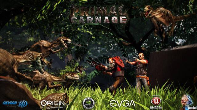 Primal Carnage, hombres contra dinosaurios en un juego de acción online