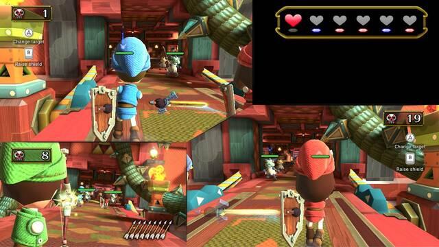 Nintendo Land quiere ser el Wii Sports de Wii U