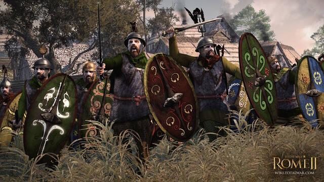 Los Arvernos serán otra de las facciones jugables de Total War: Rome II