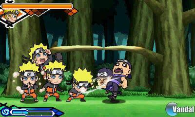 Naruto SD: Powerful Shippuden anunciado para 3DS