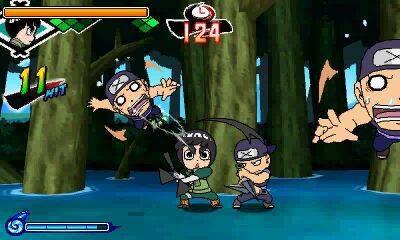 Naruto sigue mostrándose en su aventura para 3DS