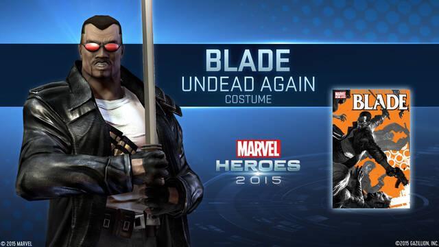 Blade se suma a Marvel Heroes