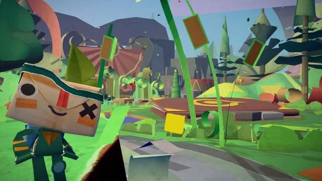 Primer tráiler e imágenes de Tearaway, lo nuevo de los creadores de LittleBigPlanet