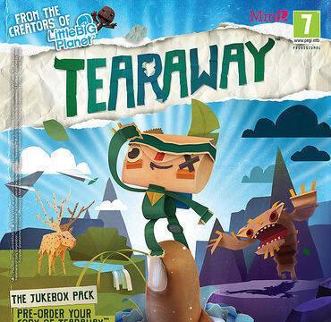 Desvelados los packs por la reserva de Tearaway
