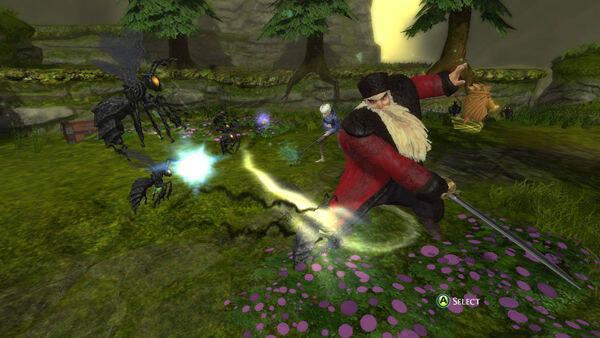 Namco Bandai presenta Rise of the Guardians