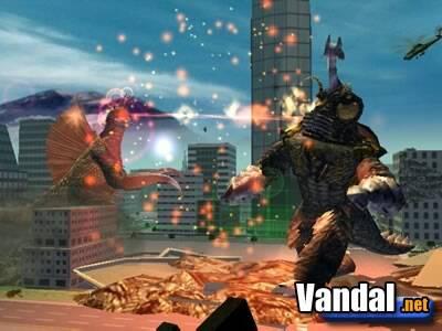 Nuevas imágenes de Godzilla en Xbox
