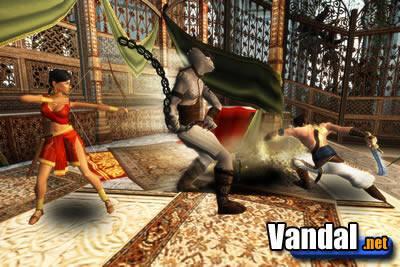 Prince of Persia: The Sands of Time: La compañera del príncipe