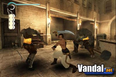 Nuevas imágenes de Prince of Persia: Las Arenas del Tiempo para PS2