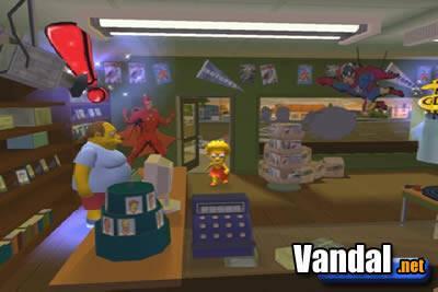 Imágenes de Los Simpsons Hit & Run